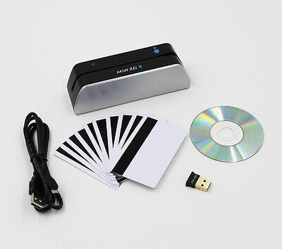 Msrx6bt Bluetooth Mini Magnetic Credit Card Reader Writer Wireless Msr605 Msr606