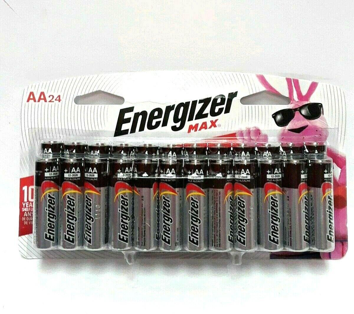 AA Batteries, 24 Count - Energizer MAX Premium Alkaline