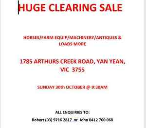 HUGE CLEARING SALE Mernda Whittlesea Area Preview