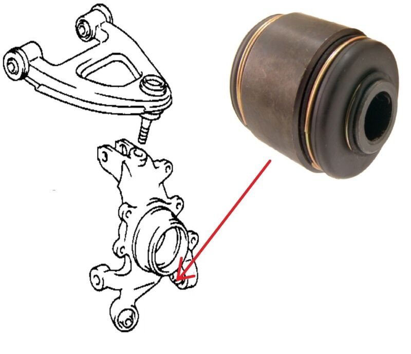 REAR HUB KNUCKLE REAR BUSH FOR LEXUS LS400 TOYOTA CELSIOR MARK 2 CHASER CRESTA
