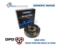 OEM SPEC REAR DISCS AND PADS 330mm FOR AUDI A6 QUATTRO 3.2 2004-11