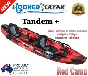 double kayak for sale | Kayaks & Paddle | Gumtree Australia Free