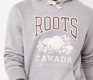 BNWT Mens Large Roots Sweater