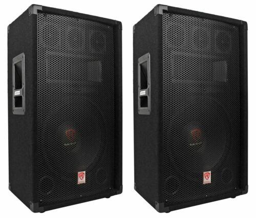 Rockville RSG12.4 12 3-Way 1000 Watt 4-Ohm Passive DJ/Pro A