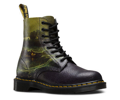 Dr Martens 1460 Pascal Tate JMW Turner Fishermen Cristal Suede Leather Boots
