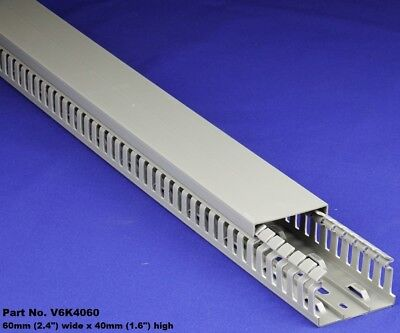 20 Sets - 2x1.5x2m Gray High Density Premium Wiring Ducts And Covers - Ulcsa