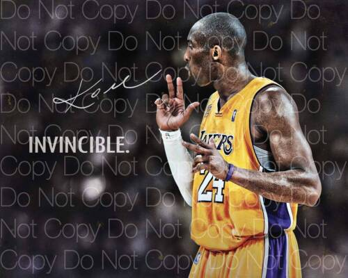 Kobe Bryant signed LA Lakers 24 8X10 photo picture poster autograph RP 2