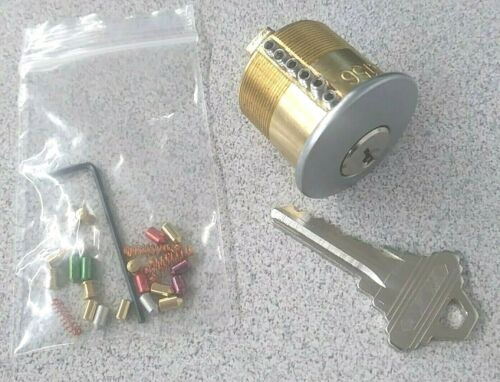 Locksport Practice Lock, Removable 1 to 6 Pins.Commercial Grade Schlage Keyway