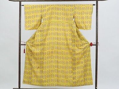 Authentic Used Japanese Clothing Kimono made in Japan. Traditional style.