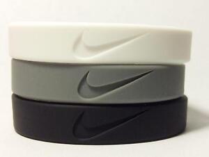 Nike rubber wristbands