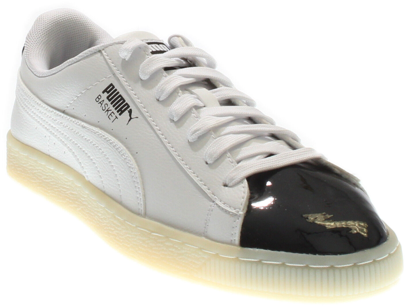 Puma Basket Patent  White - Mens