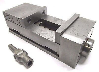 Kurt 6 Pull-type Ii Cnc Machine Vise W Jaws Handle - Pt600