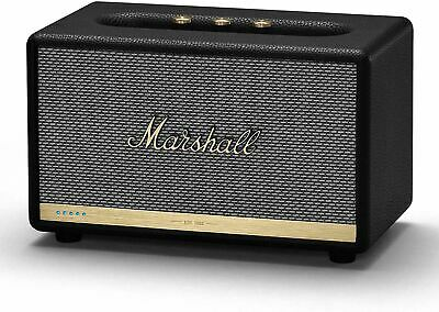 Marshall Acton II with Amazon Alexa - Voice Activated Bluetooth Speaker - Black