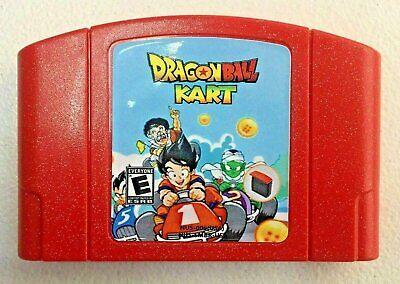 Dragonball Kart N64 Hack Nintendo 64 Homebrew Mario Kart with Dragon Ball Z, usado comprar usado  Enviando para Brazil