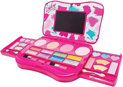 Makeup Set Girls Kit Palette with Mirror Non Toxic For Kids Pink Game -