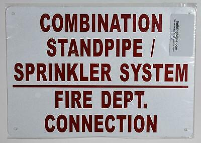 Combination Standpipe And Sprinkler System Fire Department 7x10