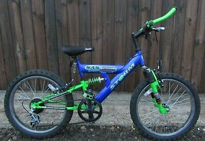 Storm Rolling Thunder Full Suspension Mountain Bike Bicycle Brand New Tyres Boys