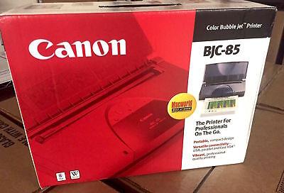BRAND NEW! Canon Bubble Jet BJC-85 Color Mobile Inkjet Printer Canon Canon Bubble Jet