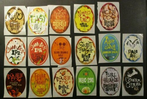 FLYING DOG BREWING Maryland 17 STICKER PACK LOT decal craft beer brewery
