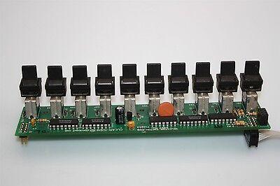 10x Apem Miniature Toggle Switch St1-3 Sp 0.4 Va Clear-com Pcb Assy 710253