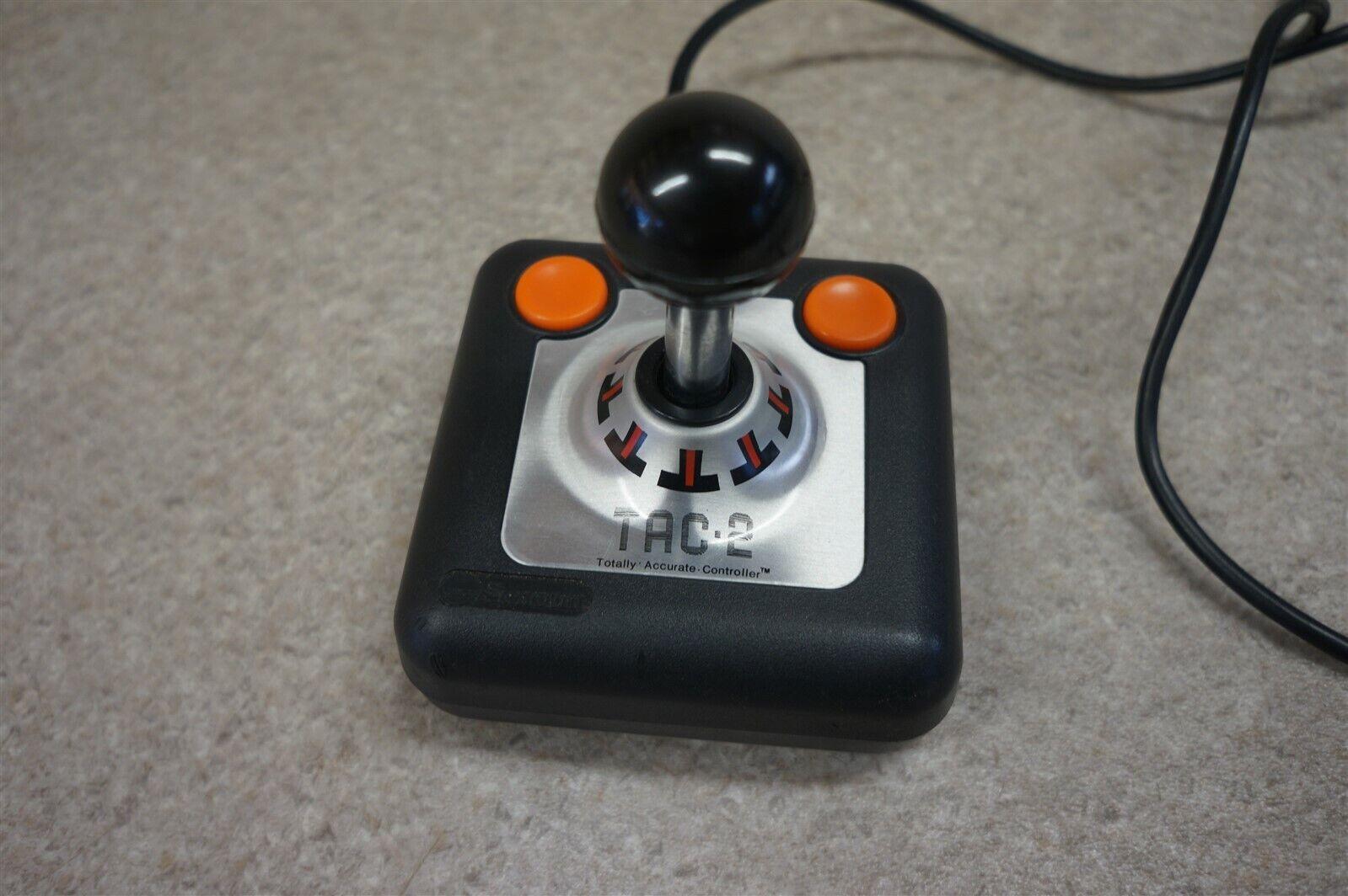 Atari 2600 Commodore 64 Tac-2 Tac 2 Joystick Controller -Working- - $25.00