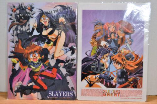 Slayers Anime Shitajiki (Pencil Board) Lot