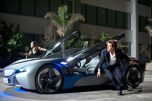 BMW Continues Promotion of i8 Plug-in Hybrid Supercar