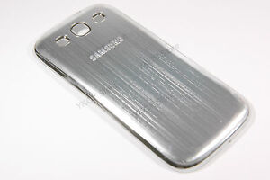 Aluminum-Metal-Battery-Door-Back-Cover-Samsung-Galaxy-S3-S-III-i9300-Silver