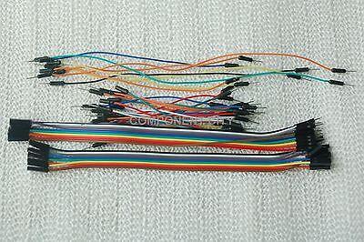 Jumper Wire Assortment 156 Pcs Male-male Male-female Female-female 2-5 Delivery