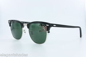 New-Authentic-Original-Ray-Ban-RB3016-Clubmaster-Black-901-Sunglasses