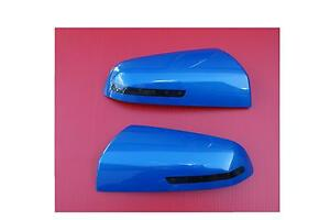 HSV-Caprice-WM-Commodore-VE-Amber-LED-mirror-covers-Voodo-Blue-Finish-SS-SV6-GTS