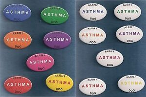 asthma alert 7 color backgrounds white service