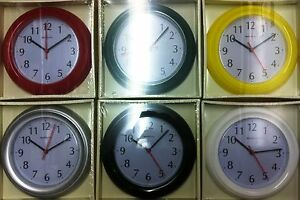 KITCHEN-WALL-CLOCK-21cm-QUARTZ-MOVEMENT-IN-DIFFERENT-COLOURS-ACCTIM-BENTIMA