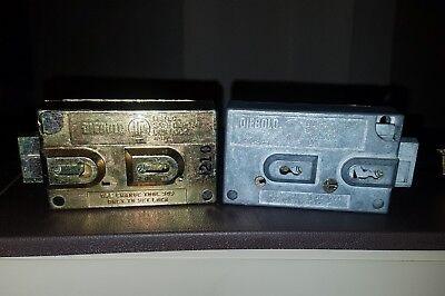 Diebold Model 17570 175-70-b Safe Deposit Left Right Hand 0-bitted Locksmith
