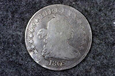 Estate Find 1805 - Draped Bust Quarter!!!  #H6536