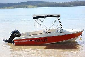 haines hunter v146r / evinrude 140hp speed boat Highland Park Gold Coast City Preview