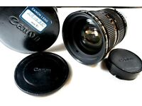 72mm Wide Angle Macro conversion Camera Lens fo Canon FD 20-35mm f//3.5L,EF 85mm