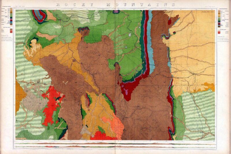 114 maps WYOMING state PANORAMIC genealogy old HISTORY atlas DVD
