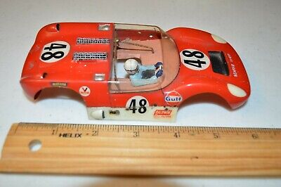 1960's vintage 1/24th slot car Scarab Chevy Can Am body
