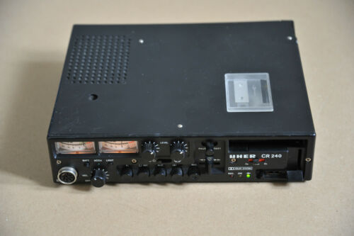 UHER CR-240 Reporter Cassette DECK Portable RECORDER W. Germany for RESTORATION