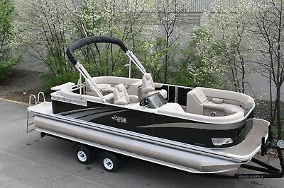 2485 Tmltz Cruise tritoon pontoon boat with 150 and trailer