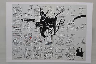 "JEAN-MICHEL BASQUIAT : ""UNTITLED""  Kunst-Postkarte"