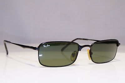 RAY-BAN Mens Vintage 1990 Sunglasses Rectangle BAUSCH LOMB RB 3104 W3098 24388