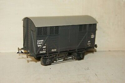 7mm O gauge KITBUILT Ventilated Fruit Van GWR Grey 134152 (Peco Parkside Slaters for sale  Shipping to Ireland