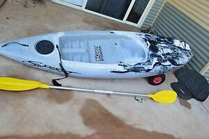 Fishing KAYAK 2.6mtre rod holder PADDLE wheels Broome Broome City Preview