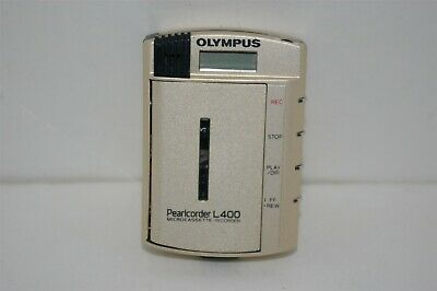 Olympus Pearlcorder L400 Ultra-compact Microcassette Voice Recorder Tested