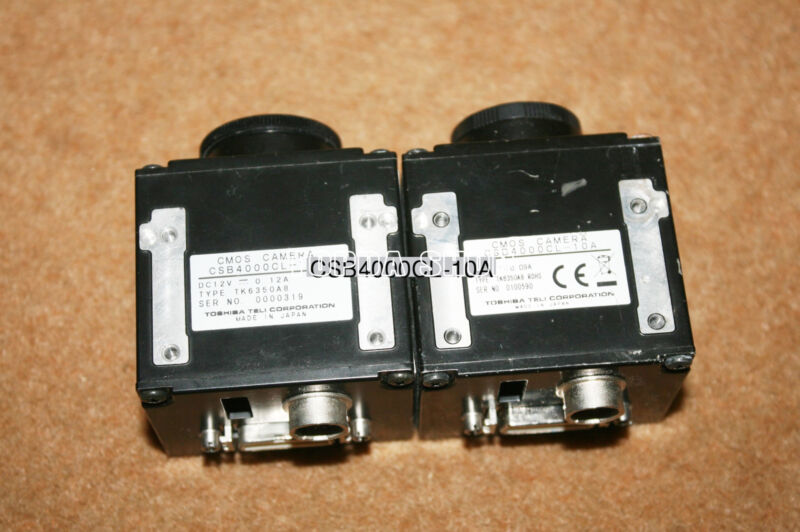 1PC TELI CSB4000CL-10A 4Megapixel Black and white CMOS industrial camera#SS
