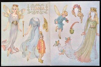 apier Puppe, von Helen Page, Vergrößerung Farbe Platte (Farbe Papier Platten)