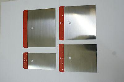 Japanspachtel Set 4-teilig Federstahl,Spachtelsatz, Metallspachtel, neu & OVP