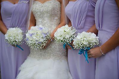 Wenn die Brautjungfern zum Brautstrauß passen ...